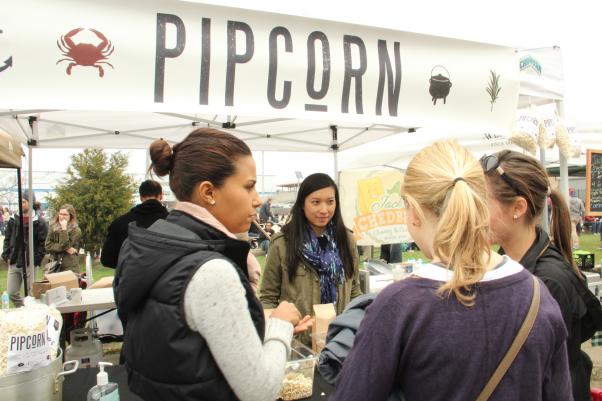 Pipcorn market stand